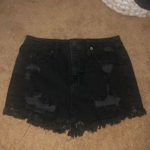 Mossimo black high rise shorts size 4/27